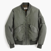 J.Crew Wallace & Barnes MA-1 Primaloft® bomber jacket