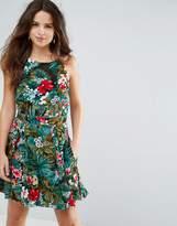 Louche Helia Tropical Print Dress