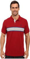 U.S. Polo Assn. Engineered Chest Stripe Pique Polo Shirt