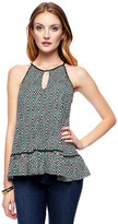Juicy Couture Jersey Zenith Geo Top
