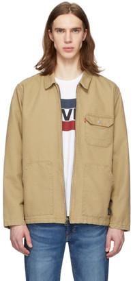 Levi's Levis Beige Waller Worker Jacket