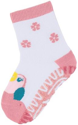 Sterntaler Girl's Glitzer Flitzer Sun Kakadu Calf Socks