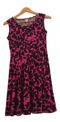 Diane von Furstenberg Pink Silk Dresses