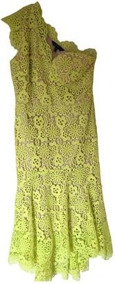 Karen Millen Yellow Lace Dress for Women