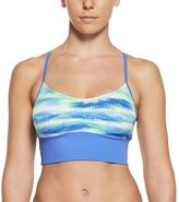 Nike Women's Gleam Abstract Crop Bikini Top