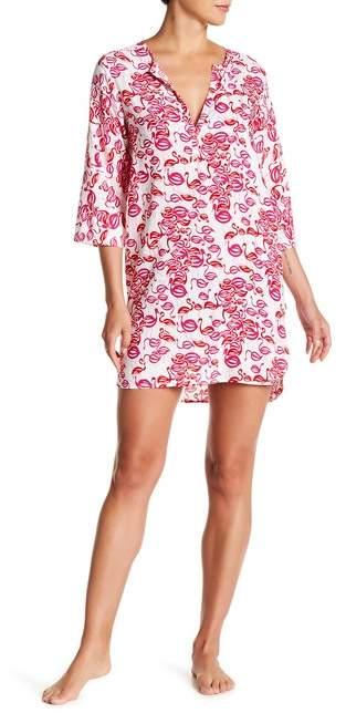 Josie Sleeping Flamingo Pajama Shirt