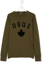 DSQUARED2 printed logo T-shirt