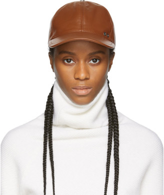 Sportmax Brown Record Cap