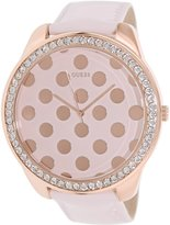 GUESS GUESS? Women's U0258L3 Rose- Leather Quartz Watch