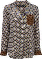 Steffen Schraut chest pocket shirt - women - Silk/Spandex/Elastane - 38