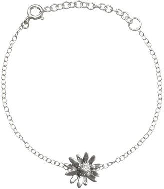 Lucy Flint Jewellery Little Daisy Bracelet Sterling Silver