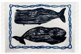 Thomas Paul Whale Sketch Throw