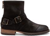 Belstaff Black Suede Trailmaster Boots