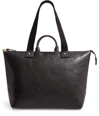 Clare Vivier Le Zip Sac Leather Tote