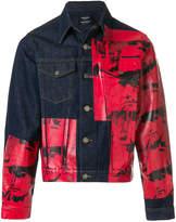 Calvin Klein 205W39nyc Dennis Hopper denim jacket
