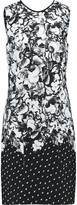 Erdem Printed cotton-crepe dress