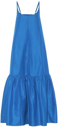 Lee Mathews Exclusive to Mytheresa Daisy cotton and silk dress