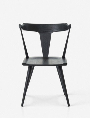 Lulu & Georgia Lawnie Dining Chair, Black Oak