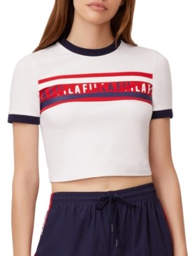 Fila Krissy Logo Cropped T-Shirt