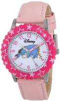 Disney Kids' W000098 Eeyore Stainless Steel Time Teacher Watch