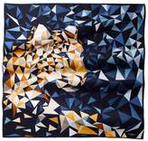 Cartier Pixel Panther Motif Scarf