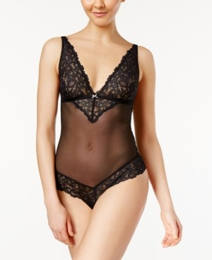 B.Tempt'd b. Charming Mesh and Lace Bodysuit 936232