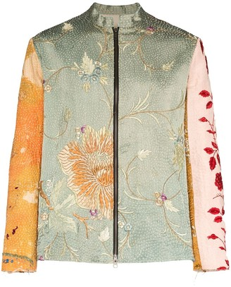 By Walid Dragon embroidered jacket