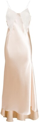 Philosophy di Lorenzo Serafini Sleeveless Lace Detail Dress