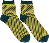 Kolor Green Striped Socks