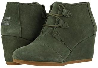 Toms Kala (Black Suede) Women's Lace-up Boots