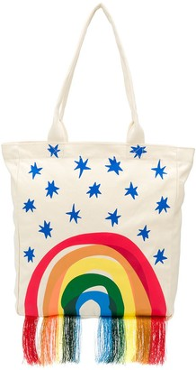 Stella McCartney Rainbow-Print Tote Bag