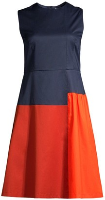 BOSS Dolouri Bicolor Dress