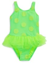 Hula Star One-Piece Swimsuit (Toddler Girls)