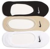 Nike Women's 'Performance' No-Show Socks, 3-Pack