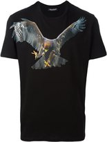 Neil Barrett eagle print T-shirt - men - Cotton - XS
