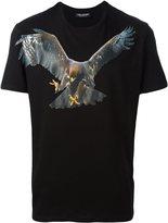 Neil Barrett eagle print T-shirt