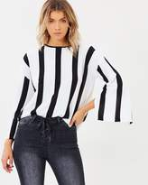Mahlia Stripe Knit Top