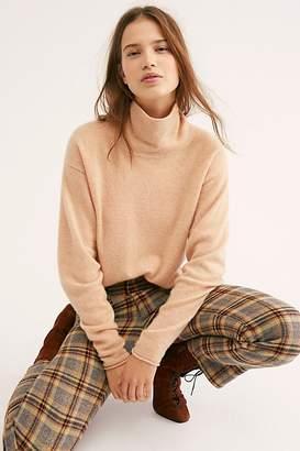 Free People Cozy Cashmere Turtleneck Sweater