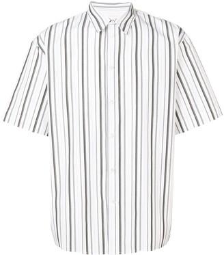 MSGM classic striped shirt