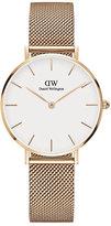 Daniel Wellington Ladies' Rose Gold Plated Bracelet Watch
