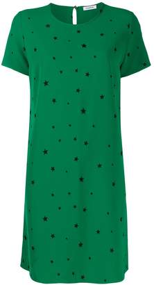 P.A.R.O.S.H. star print T-shirt dress