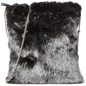 The Row Faux Fur Crossbody Bag