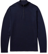 Nn07 - Levi Wool Half-zip Sweater
