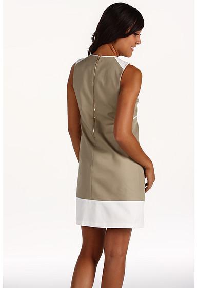 Anne Klein Double Weave Shift Dress