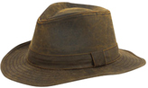 San Diego Hat Company Men's Distressed Fedora CTH3730