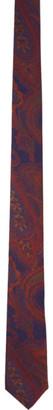 Etro Purple Paisley Tie