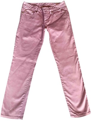 Tory Burch Pink Cotton - elasthane Jeans for Women