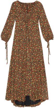 Gucci Liberty floral crepe dress