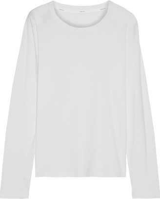 Zimmermann Striped Stretch-jersey Top
