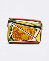 Loewe Puzzle Floral Mini Satchel Bag